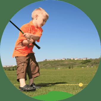 高尔夫球课程